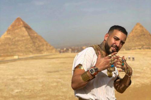 french montana egypt pyramids