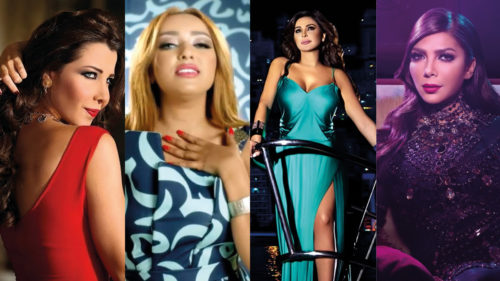 most viewed arabic songs by female arabic singers