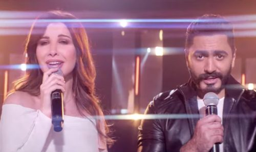 tamer hosny nancy ajram orange ramadan commercial 2019